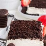 Oreo no bake cake