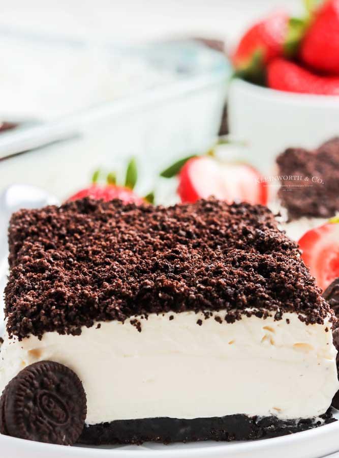 recipe for Oreo Dirt Cake