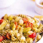 recipe for Pesto Pasta Salad