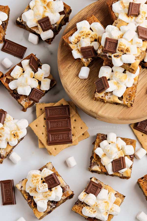 summer treat baked smores