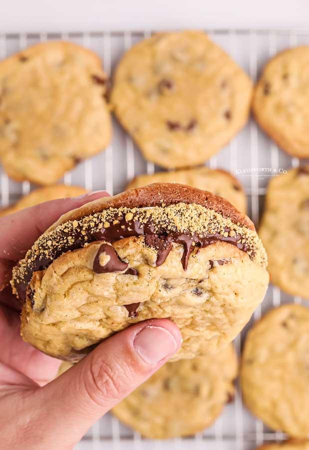cookie sandwich smores