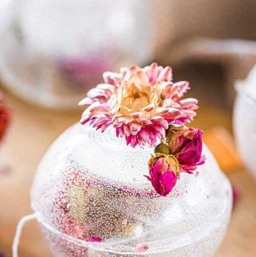 Translucent Tea Bomb