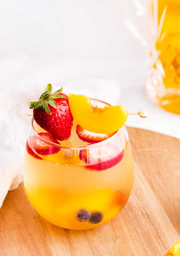 recipe for White Peach Sangria