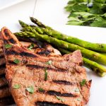 pork chops on the pellet grill