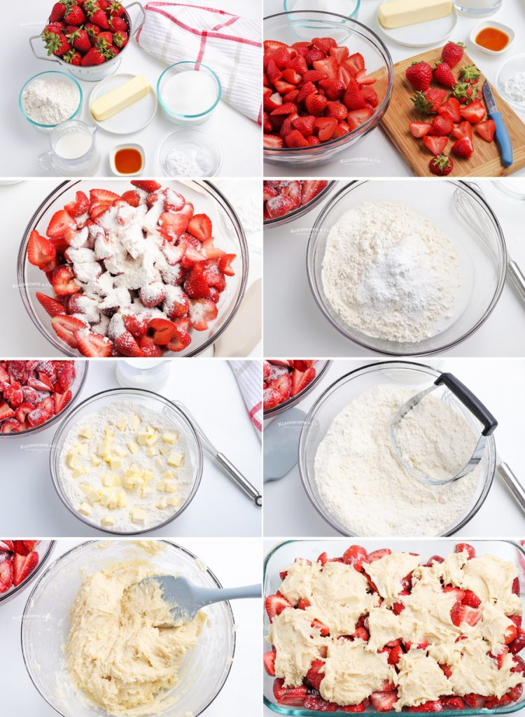 how to make Strawberry Cobbler