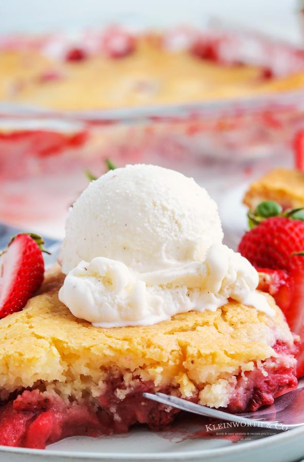summer dessert - cobbler