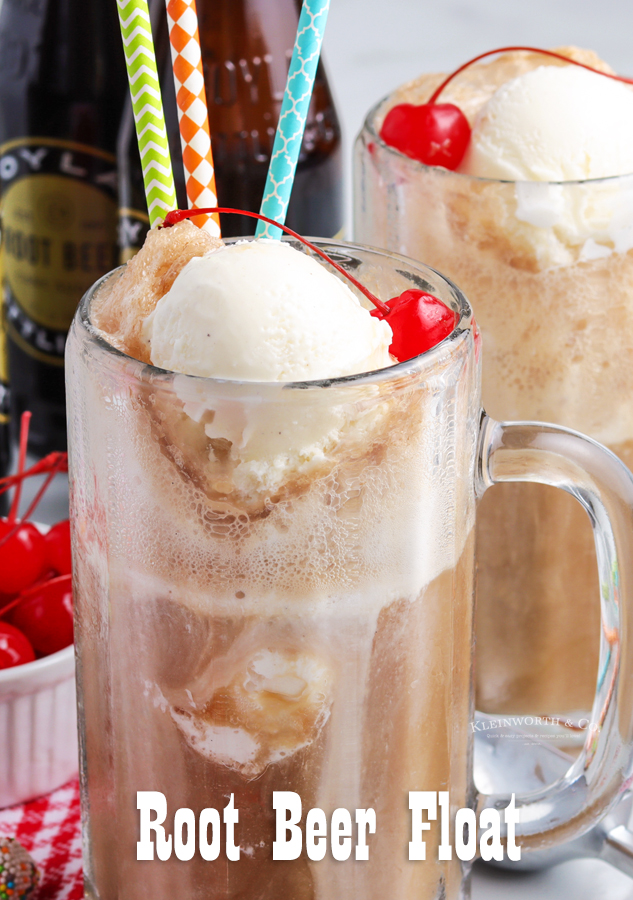 Make a Root Beer Float