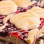 Cherry Pie Bars or Kuchen Bars