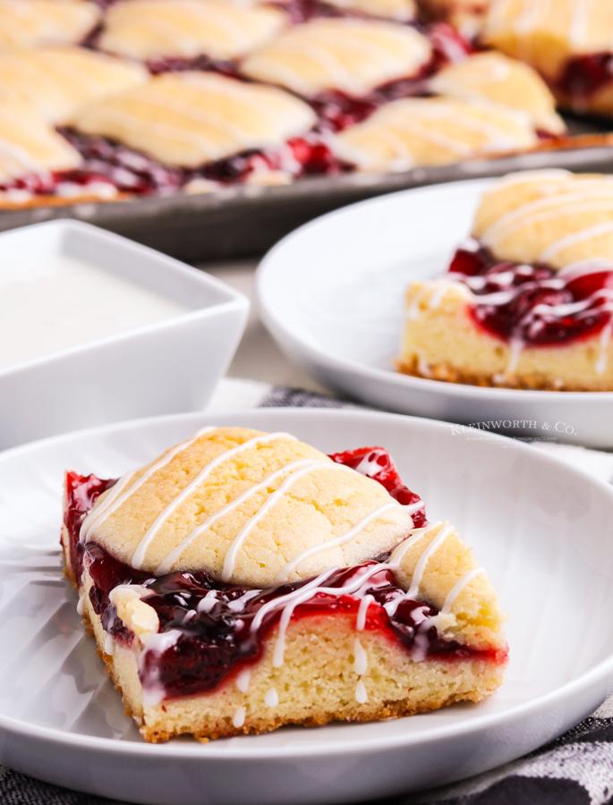 easy cherry pie squares