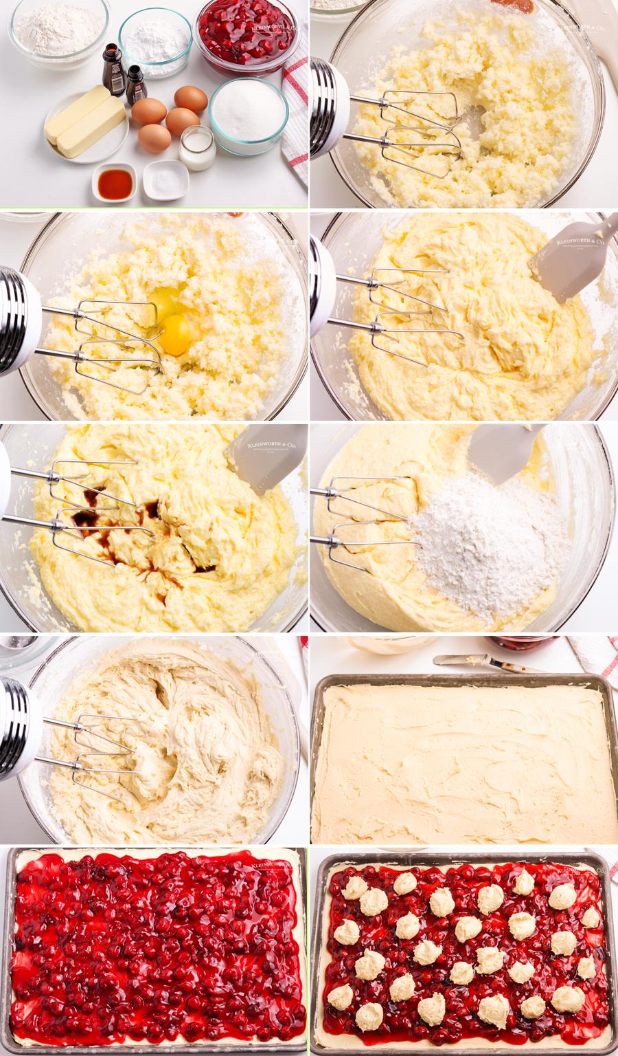 how to make Cherry Pie Bars