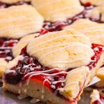 cherry pie cookie bars