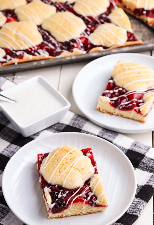 summer fruit - cherry pie