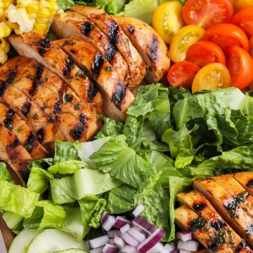 recipe for Grilled Chicken Salad