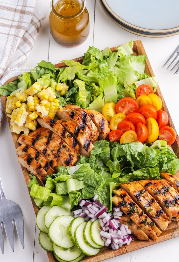 chicken salad side dish