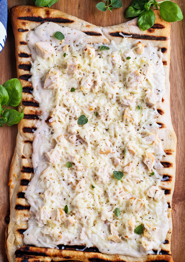 gas grill pizza