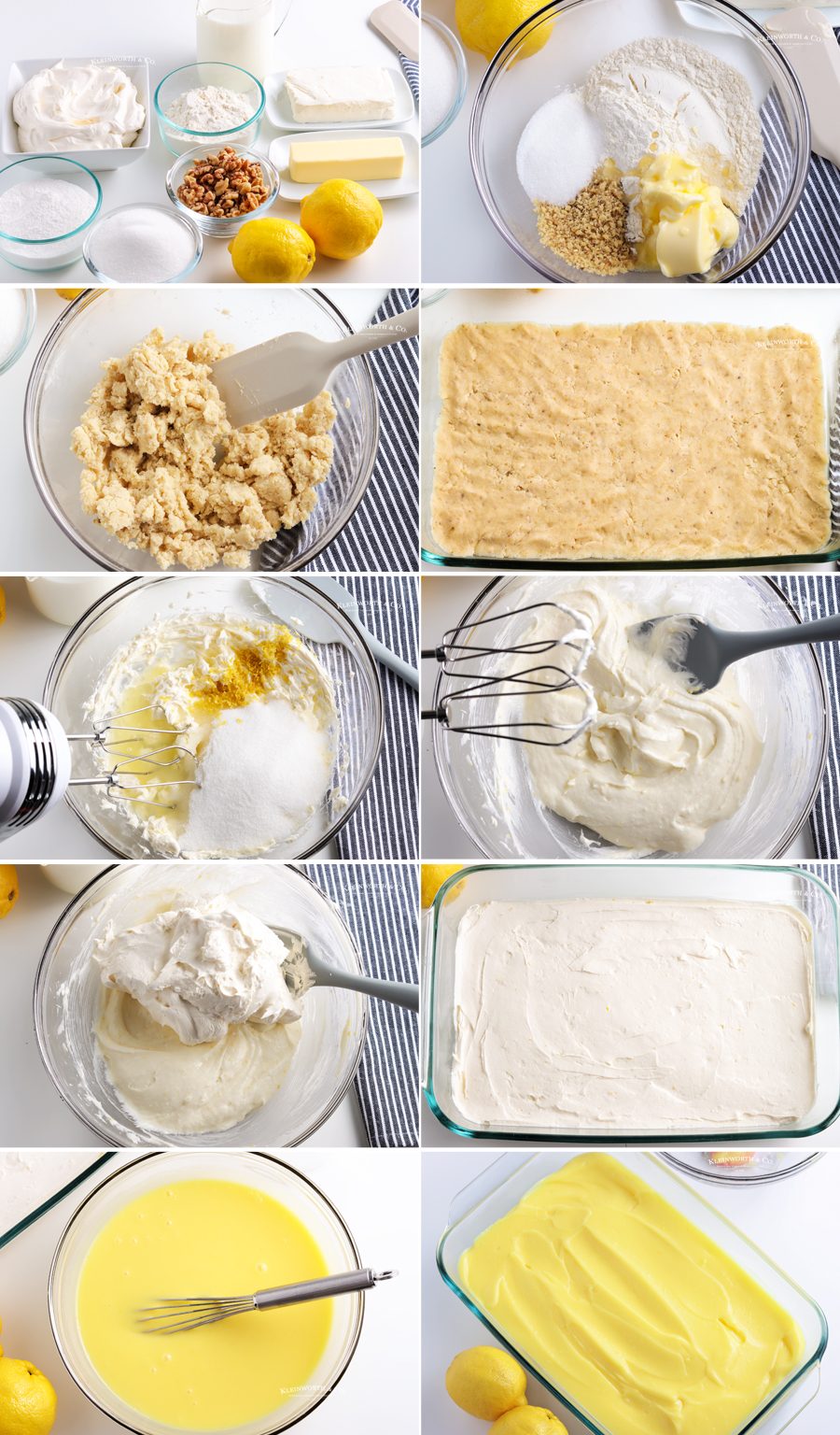 how to make Lemon Lush