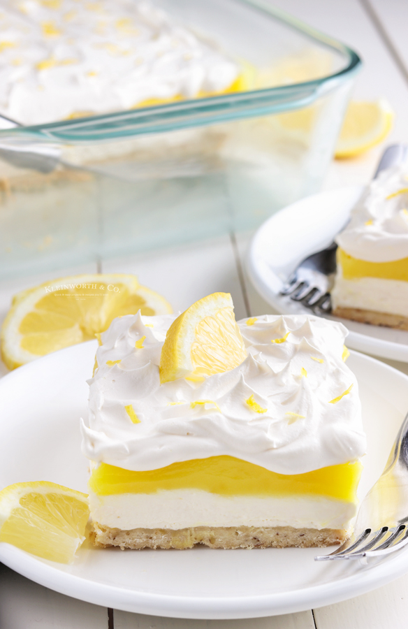 lemon lasagna dessert