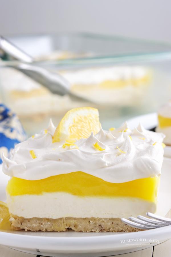 recipe for Lemon Lush
