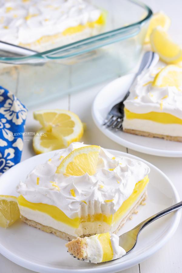 summer lemon dessert recipe
