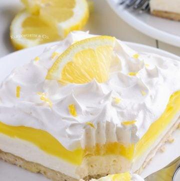 lemon treat lush