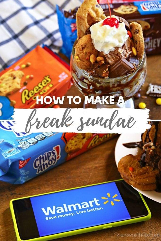 Freak Ice Cream Sundae