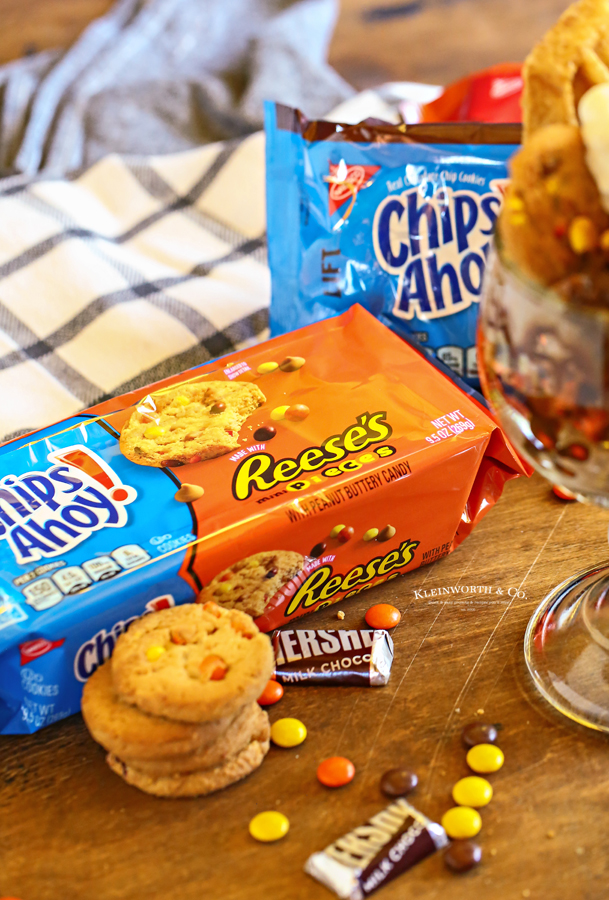 Chips Ahoy with Reese's