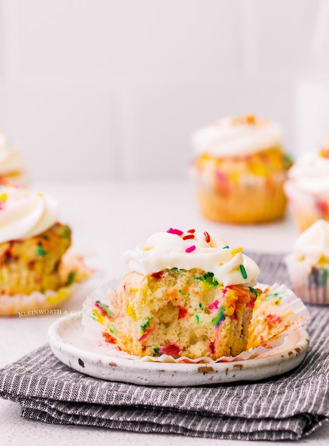 Confetti Cupcakes Recipe