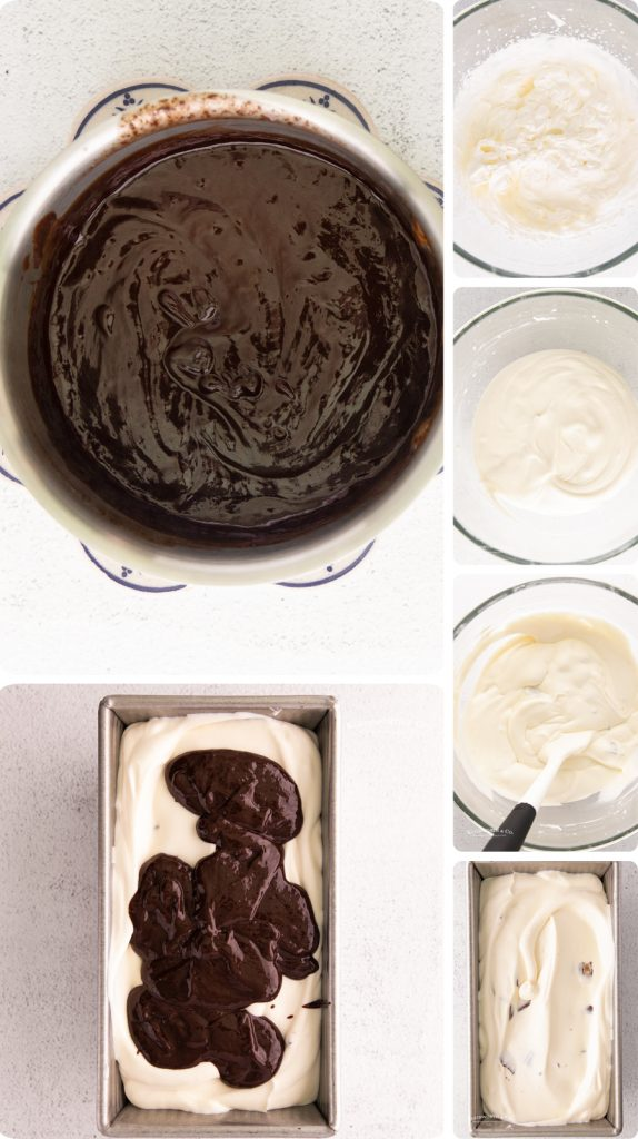 how to make no churn Moose Tracks Ice Cream