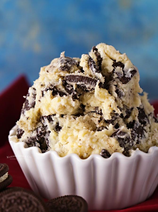 eggless cookie dough Oreo