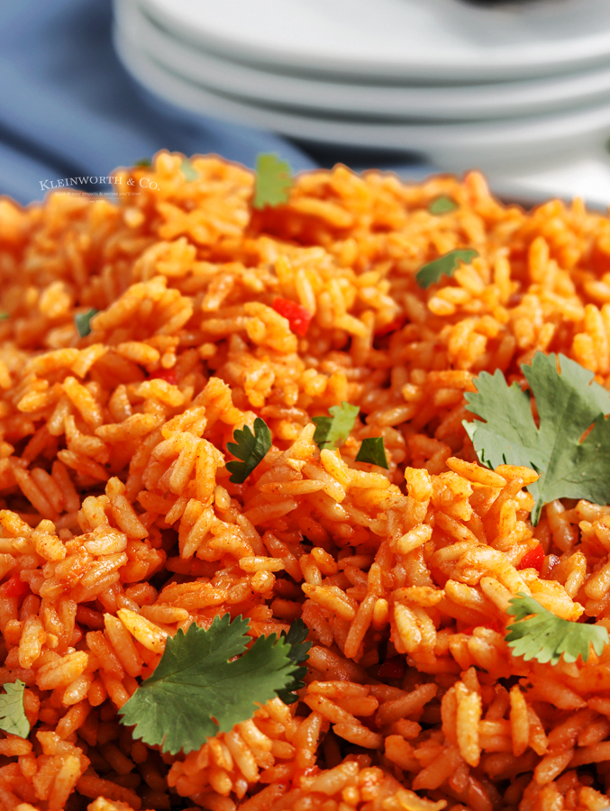 dinner recipe spanish rice