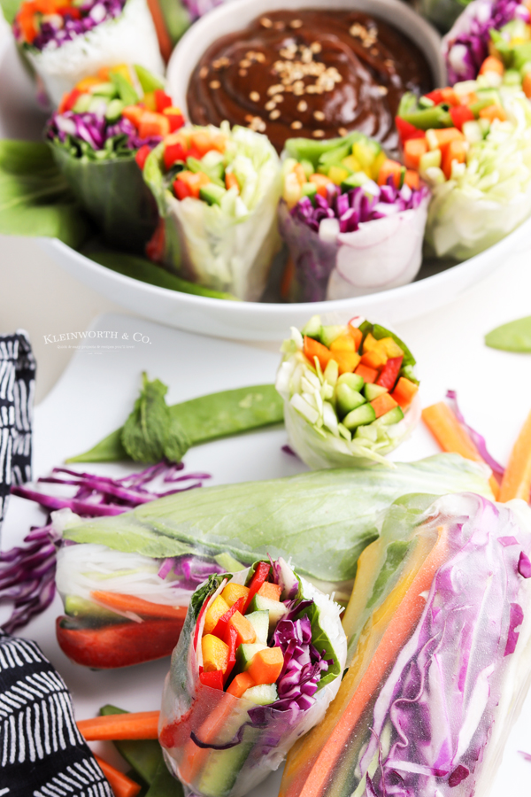healthy summer rolls