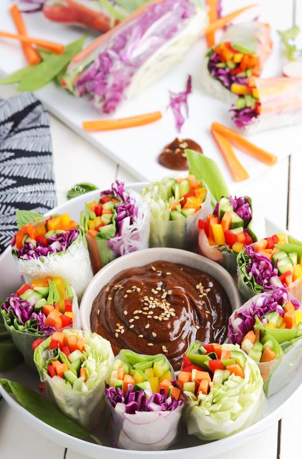 recipe for Vietnamese Summer Rolls