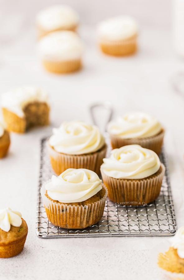 the best Zucchini Cupcakes