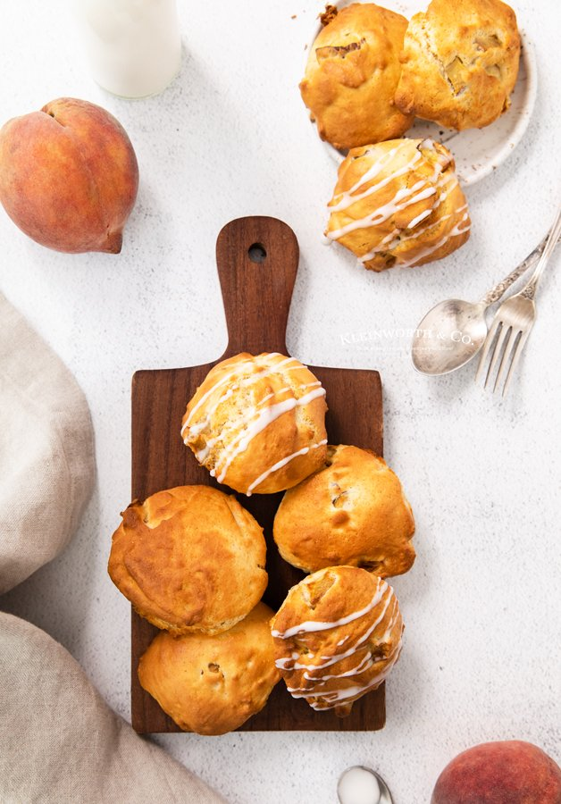 recipe for Air Fryer Peach Fritters