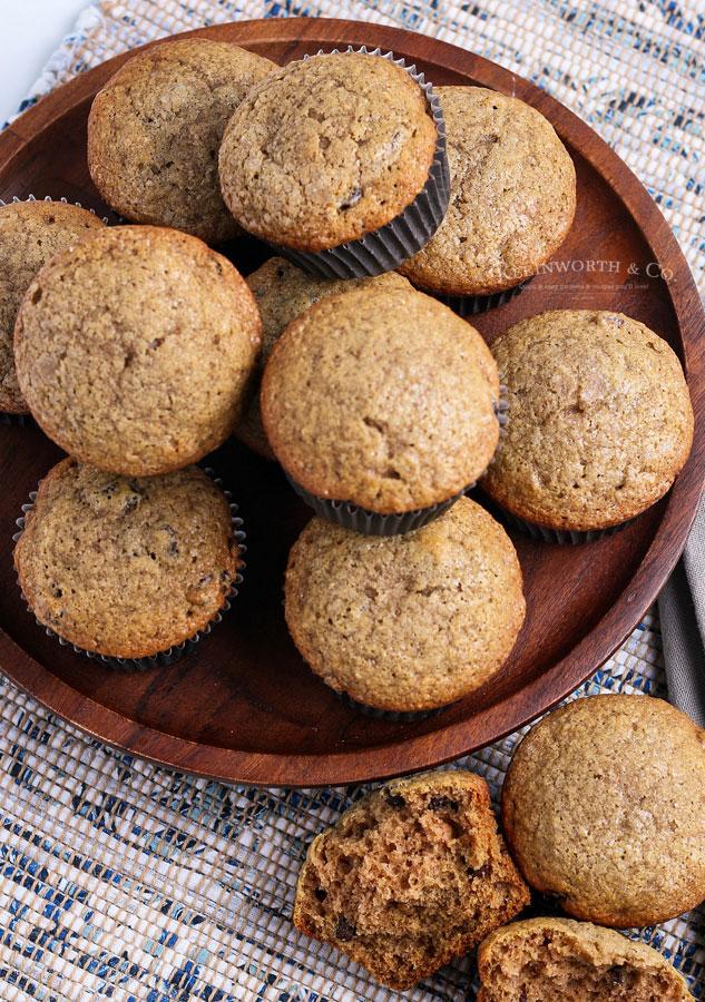 apple muffins with raisins