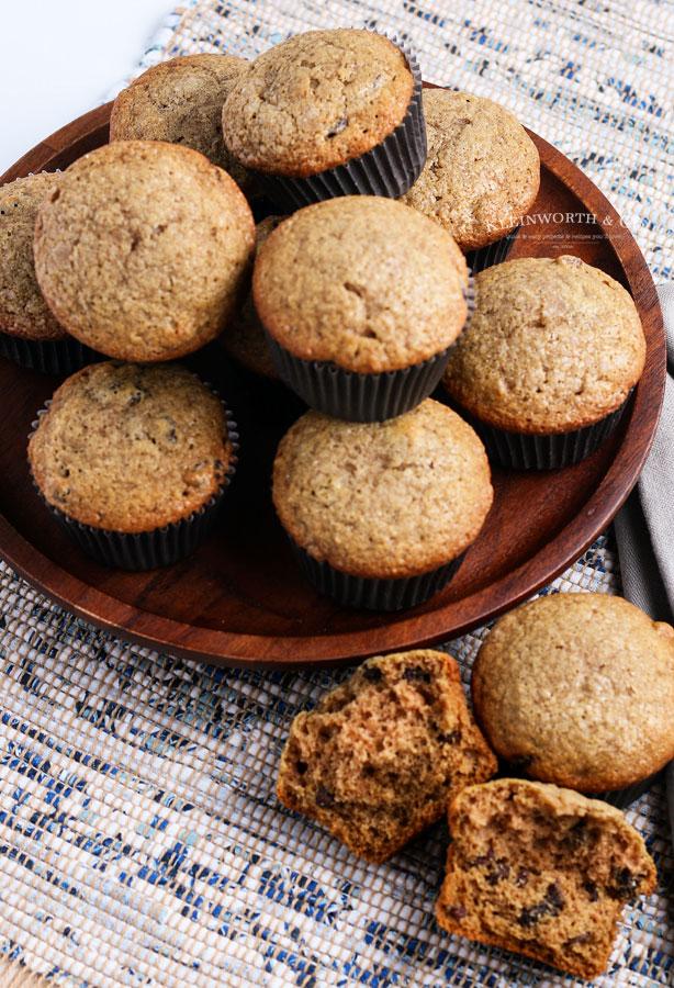 muffin recipe breakfast - applesauce