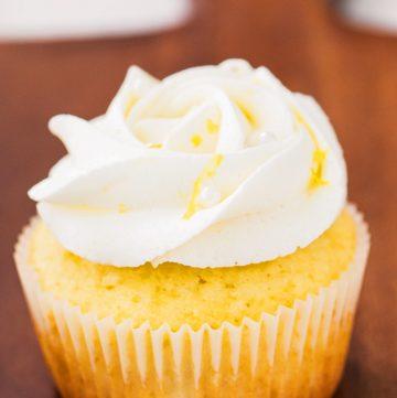 lemon zest cupcakes