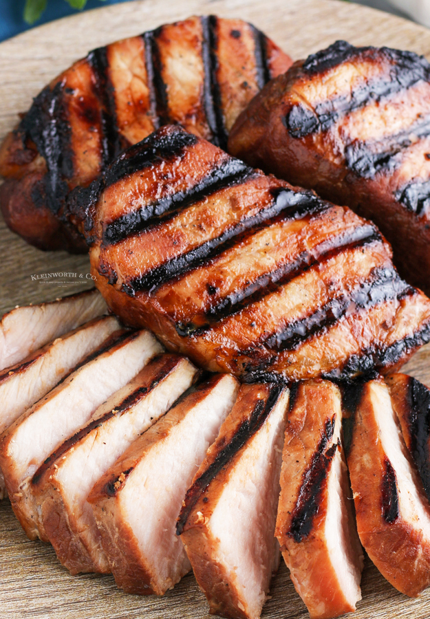 marinated grilled pork