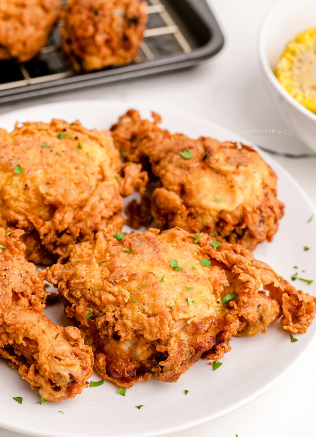 crispy chicken dinner