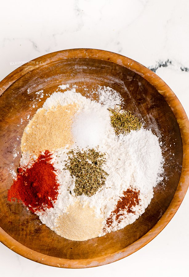 spices for fried chicken