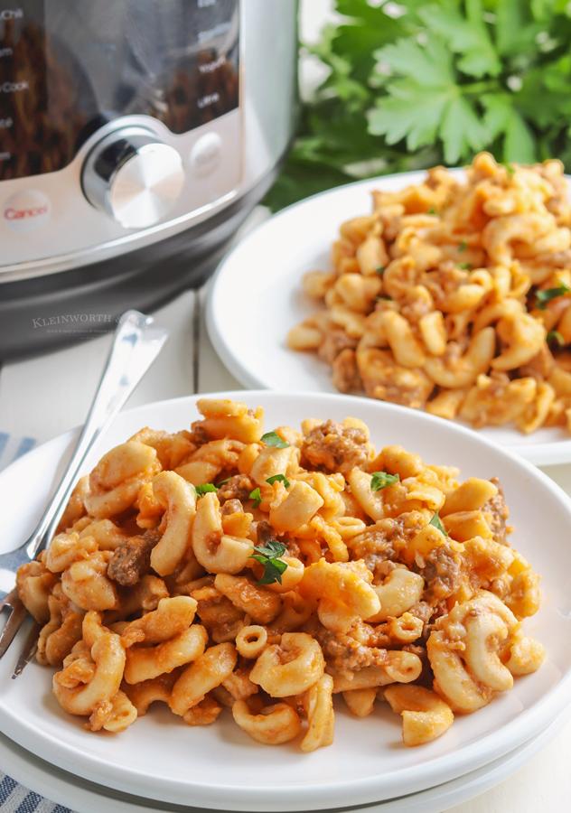 easy dinner - cheeseburger macaroni