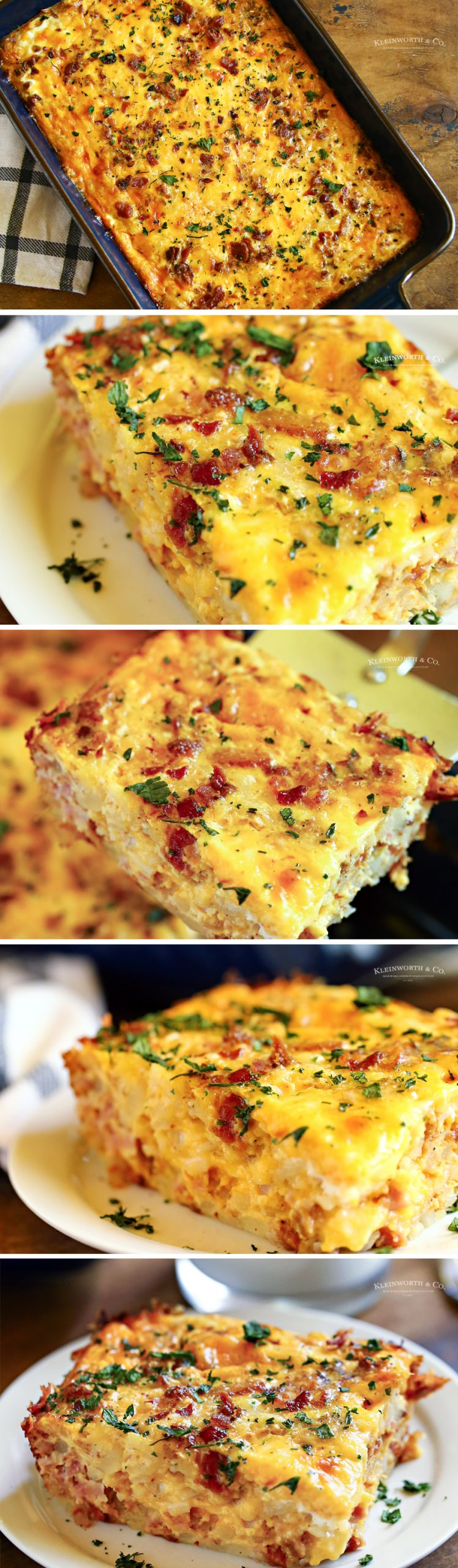 how to make Hashbrown Breakfast Casserole