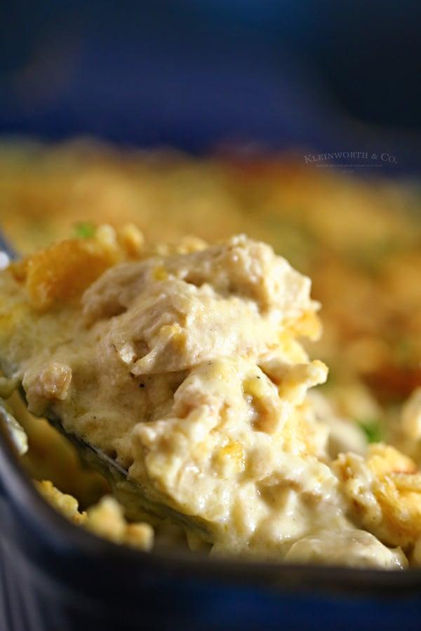 recipe chicken casserole