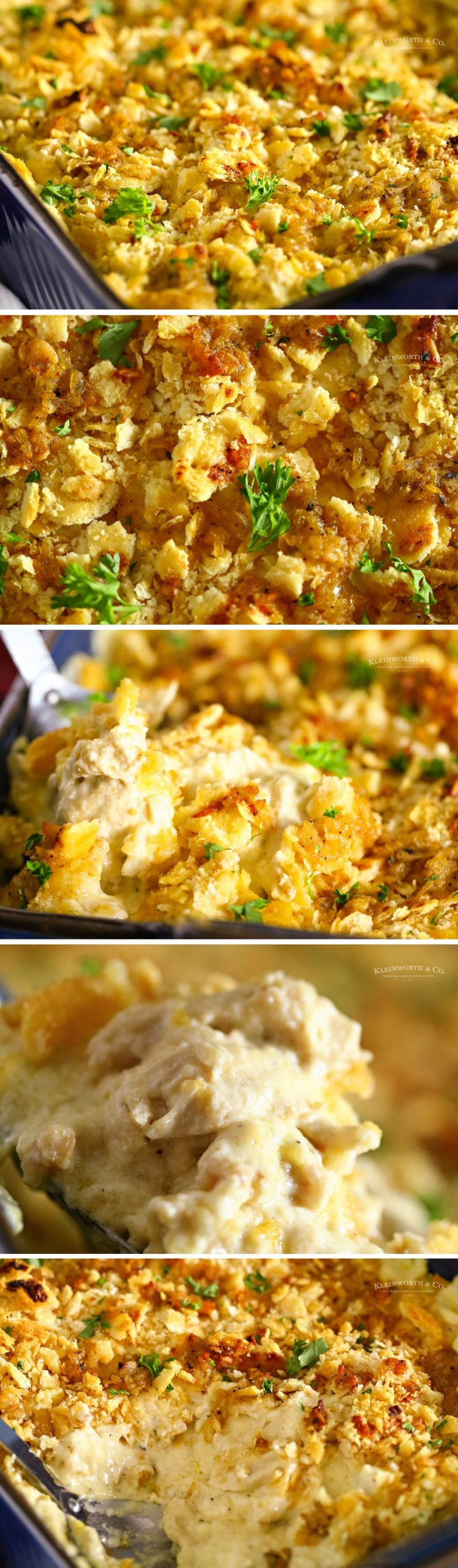 how to make Ritz Cracker Chicken Casserole