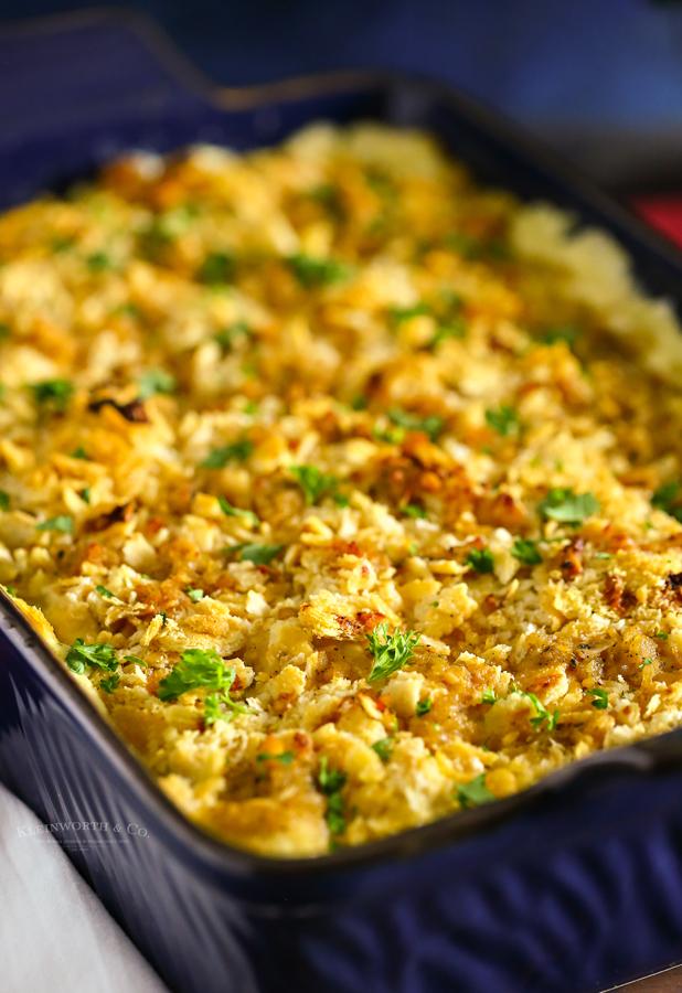 Ritz Cracker Chicken Casserole recipe