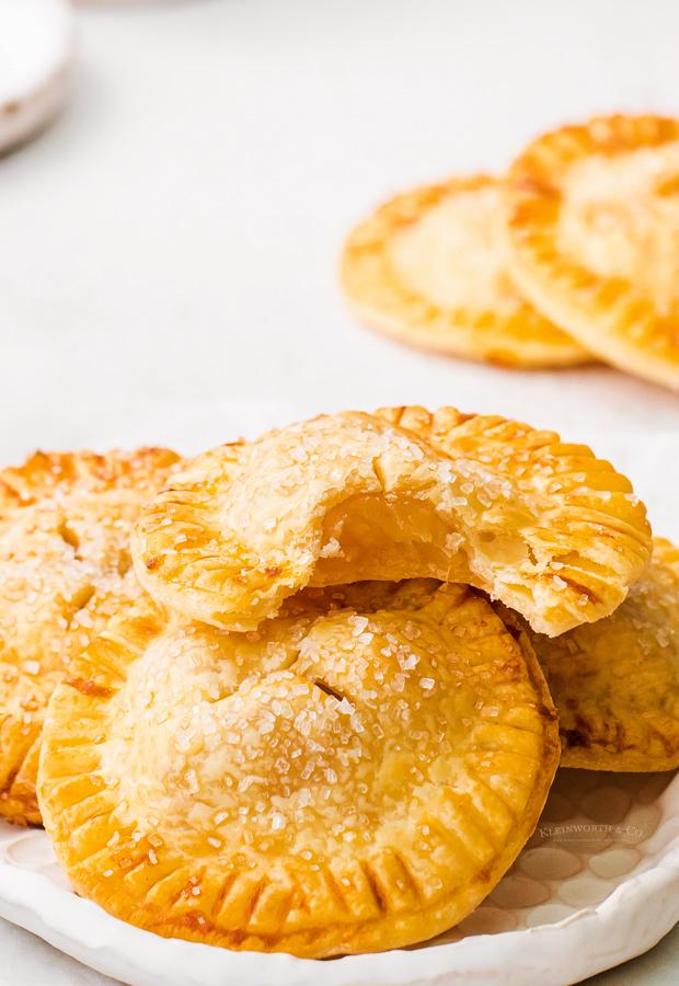 bite of an apple hand pie