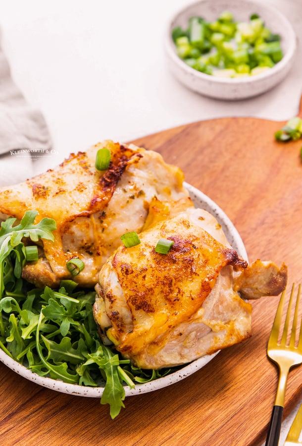 30 minute chicken thighs