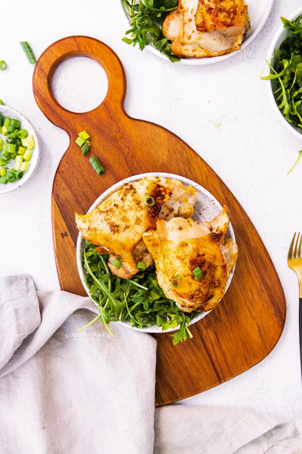 chicken thighs dinner