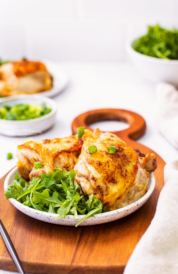 easy chicken thigh recipe with ranch
