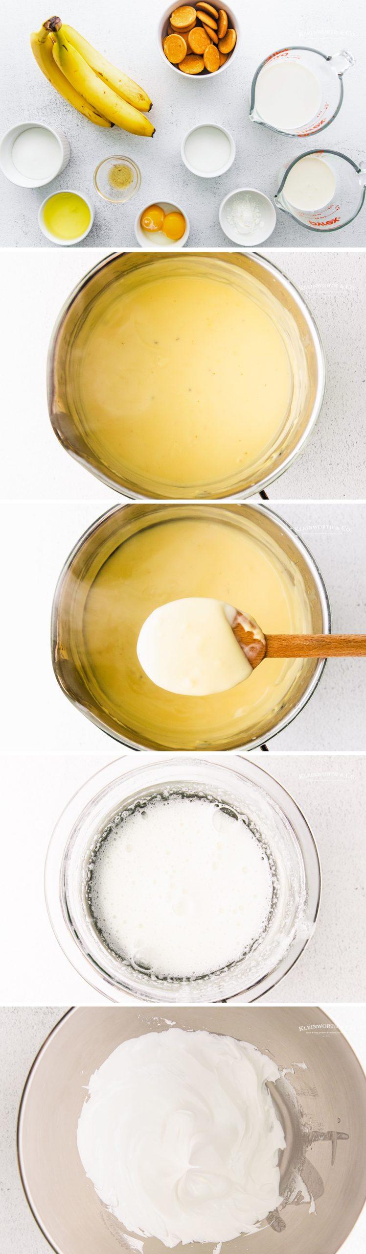 how to to make Banana Pudding